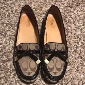 Coach Khaki/Chestnut Loafers